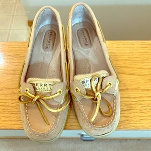 Sperry l Comfy and stylish Sperrys with gold-laces